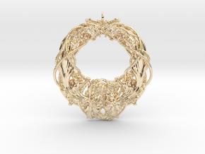 Dragon Rockstar Pendant in 14K Yellow Gold