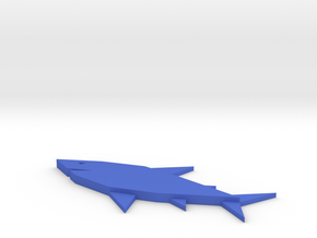 [1DAY_1CAD] SHARK in Blue Processed Versatile Plastic