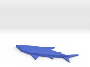 [1DAY_1CAD] SHARK in Blue Processed Versatile Plastic