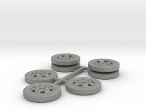 1/72 Opel Blitz wheels set in Gray PA12