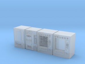 Snack machines (x4) 1/285 in Smooth Fine Detail Plastic