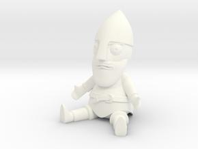 Little Guthrum Statuette in White Processed Versatile Plastic