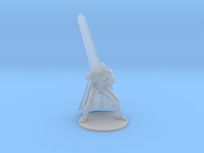 Berserk Guts DnD miniature for games and rpg base in Smooth Fine Detail Plastic