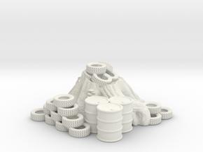 tiretree in White Natural Versatile Plastic