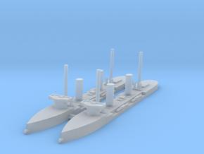 1/1250 Espora Class Torpedo Gunboats  in Smooth Fine Detail Plastic