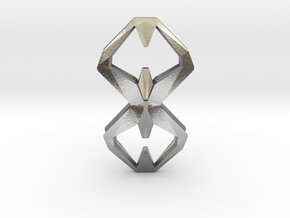 Sharp Union, Pendant. Sharp Chic  in Natural Silver