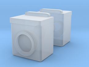 Washing Machine (x2) 1/76 in Smooth Fine Detail Plastic