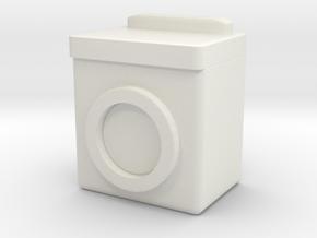 Washing Machine 1/24 in White Natural Versatile Plastic