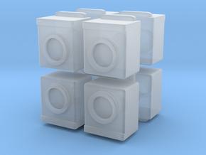 Washing Machine (x8) 1/144 in Smooth Fine Detail Plastic