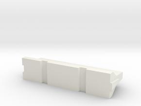 Barrera-New-Jersey-3D-H0-proto-01 in White Natural Versatile Plastic