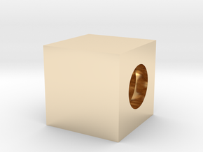 Boxing Rings Cubed in 14K Yellow Gold