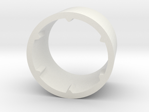 VW Steering Column Tension Spacer Part #4 in White Natural Versatile Plastic