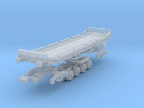British Rail Conflat C (converted Rectank) in 2mm: in Smoothest Fine Detail Plastic