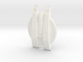 1400 Magee Class Star Trek in White Processed Versatile Plastic