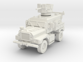MRAP Cougar 4x4 late 1/72 in White Natural Versatile Plastic