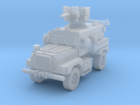 MRAP Cougar 4x4 late 1/160 in Smooth Fine Detail Plastic
