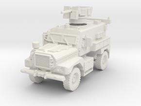 MRAP Cougar 4x4 mid 1/72 in White Natural Versatile Plastic