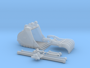 1:50 Progressive-Link Thumb Set for 320DL in Smooth Fine Detail Plastic