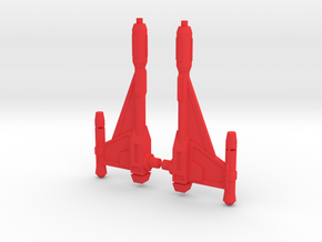 Quickswitch Photon Blasters in Red Processed Versatile Plastic
