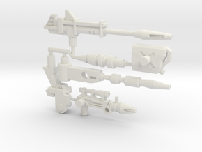 Hound Ultimate Arsenal  (Siege, 5mm) in White Natural Versatile Plastic