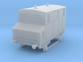 o-152fs-mgwr-horsebox in Smooth Fine Detail Plastic