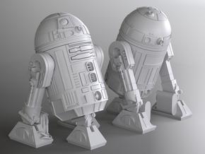 R2 De Agostini 1/43 posable model in Smoothest Fine Detail Plastic
