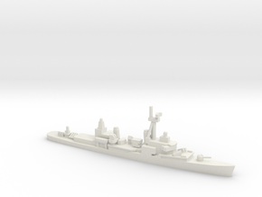 Chao Yang class destroyer, 1/700 in White Natural Versatile Plastic