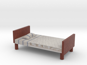 Bed model fixed in Full Color Sandstone