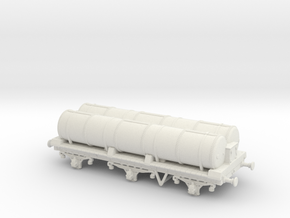 Lbscr 6W Gas Tank Wagon Ver. 2 in White Natural Versatile Plastic