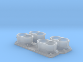 manifold plate in Smooth Fine Detail Plastic