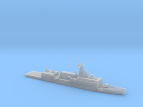 1/1250 Scale ROKS Frigate Incheon in Smooth Fine Detail Plastic