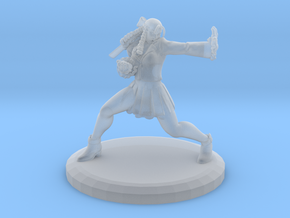 Karin Ver.2 W/ Base (Street Fighter V Fan Art) in Smooth Fine Detail Plastic