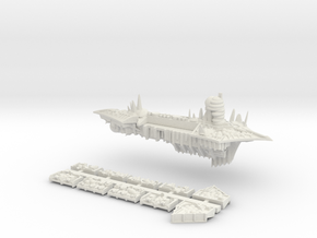 Nurgle_6_cruiser in White Natural Versatile Plastic
