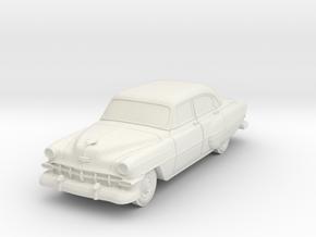 1954 Chevy 4 Door Bel-air in White Natural Versatile Plastic