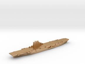 HMS Indomitable carrier 1945 1:2400 in Natural Bronze
