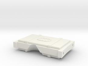 CRC1015 Element RC Enduro Fuel Cell rear brace in White Natural Versatile Plastic