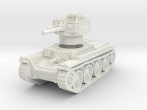 Panzer 38t A 1/87 in White Natural Versatile Plastic