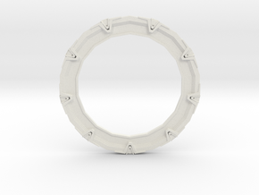 Stargate in White Natural Versatile Plastic