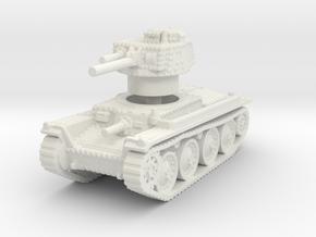 Panzer 38t A 1/120 in White Natural Versatile Plastic