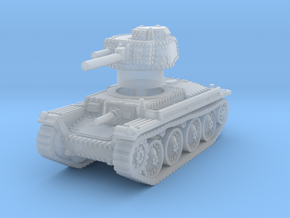 Panzer 38t A 1/160 in Smooth Fine Detail Plastic