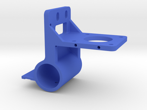 K40 Laser Gantry Bracket - 22mm OD Linear Bearing in Blue Processed Versatile Plastic