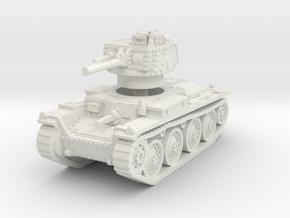 Panzer 38t B 1/87 in White Natural Versatile Plastic