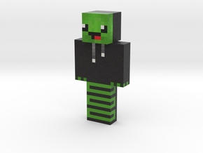Turtle_Shadow_13 | Minecraft toy in Natural Full Color Sandstone