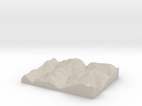 Model of Blackwood in Natural Sandstone