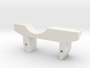 Gelande 2 Axle Servo Mount in White Natural Versatile Plastic