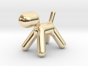 Aarnio magis puppy in 14K Yellow Gold