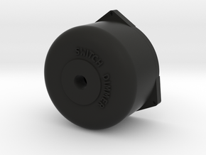 Dimmer Switch Short in Black Natural Versatile Plastic