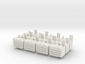 WW1 Factory X12 in White Natural Versatile Plastic