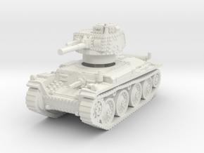Panzer 38t F 1/76 in White Natural Versatile Plastic