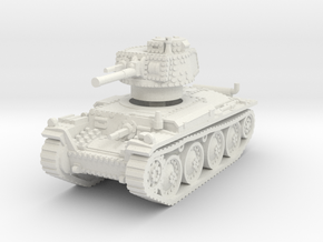 Panzer 38t F 1/72 in White Natural Versatile Plastic
